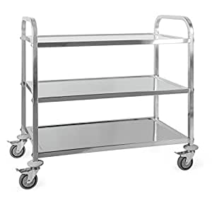 Oneconcept the great gatsby carrello portavivande 3 for Carrello portavivande amazon