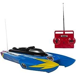 ColorBaby - Lancha radio control de agua con batería - Azul (75826)