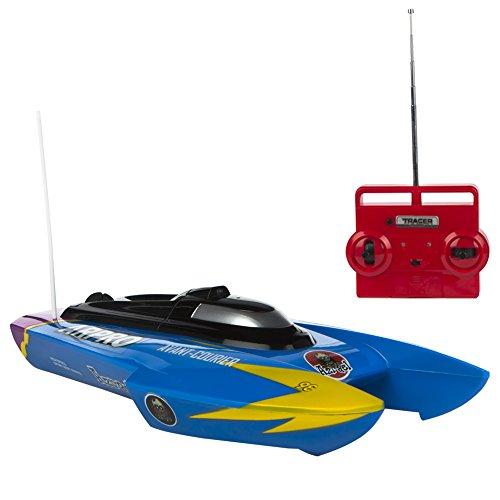 ColorBaby Lancha radio control de agua con batería - Azul (75826)