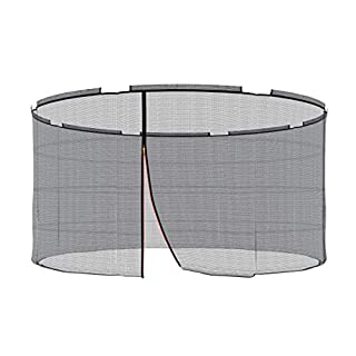 Ampel 24 Replacement Safety Net for Trampoline with Security Ring Ø 366 cm Replacement Mains Außenliegend | Extremely Tear-Resistant Garden Trampoline Replacement Net for 8 pole & UV Resistant
