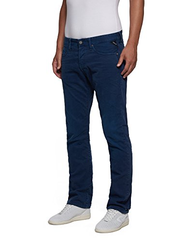 Replay Waitom, Jeans Homme Bleu (Blue)