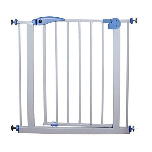 YNN Barrière de porte extensible Barrière de porte Barrière de porte d'escalier pour animaux de compagnie Porte d'escalier de 75-85 cm de largeur (largeur 77 cm) (taille : +10cm)