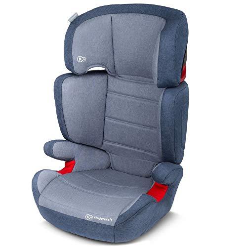 Kinderkraft Junior Plus Kinderautositz 15 bis 36 kg Gruppe 2 3 (Dunkelblau)