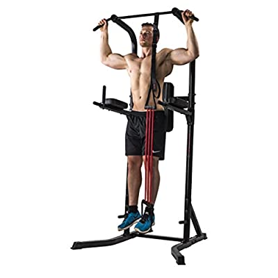 Marcy Fitness Dip Station Power Tower Deluxe, 14MECT8000