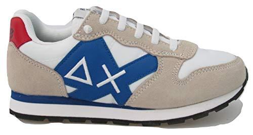 Scarpe da Bambino Sun 68 Sneakers estive Casual Sportive Ginnastica Z19301 Bianche (29 EU)