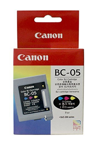 Canon BC-05 Cartouche d'encre d'origine Jaune, cyan, magenta