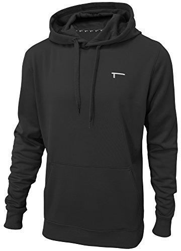 TREN Herren Thermal Performance Fleece Hoody Kapuzensweater Schwarz 001 - M Fleece-mesh Pullover