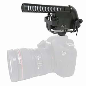 microphone externe pour caméscope Sony FDR-X1000V VidPro XM-40 Professionelle Video-und Broadcast-Kondensator-Mikrofon