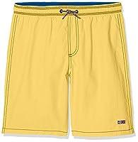 Napapijri Boy's K Villa Solid New Swim Shorts, Yellow (Summer Yellow), 140 (Manufacturer Size: 10)