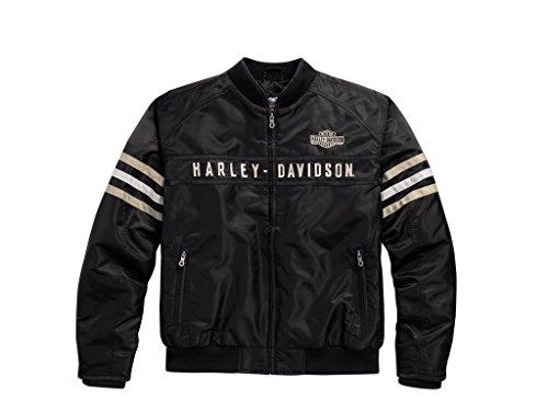 Harley-Davidson Heritage Nylon Bomber Jacke, 98552-15VM, XL Nylon Jacke