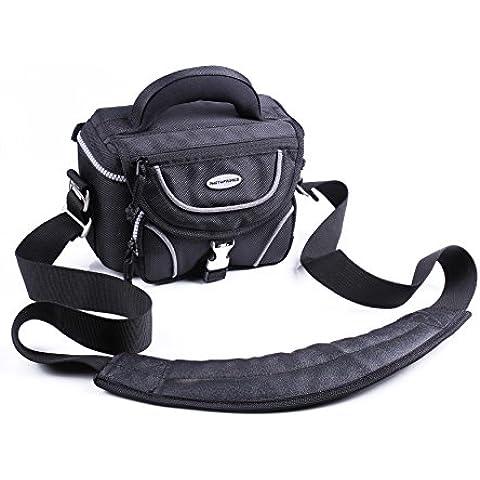 Photoprimus Pro Cam L Allwetter funda para cámara Negro Universal para videocámaras y cámaras de sistema o o Bridge apto para Sony, Canon, Nikon, Fujifilm, Panasonic,