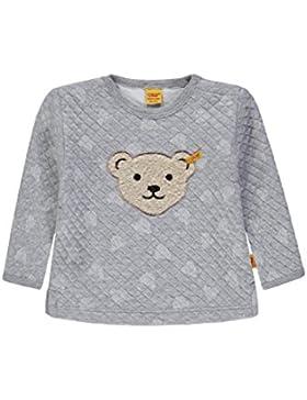 Steiff Unisex - Baby Kapuzenpullover Sweatshirt 1/1 Arm