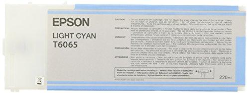 Epson T6065 Cartouche d'encre d'origine 1 x cyan clair