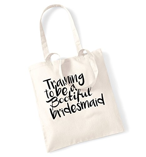 training-to-be-a-bootfiul-bridesmaid-tote-bag