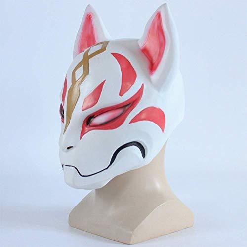 M&M Halloween Maske Fox Maske Spiel Festung Nacht Halloween Dress Up Dance Day Fox Maske (Day Halloween Up-spiele Dress)