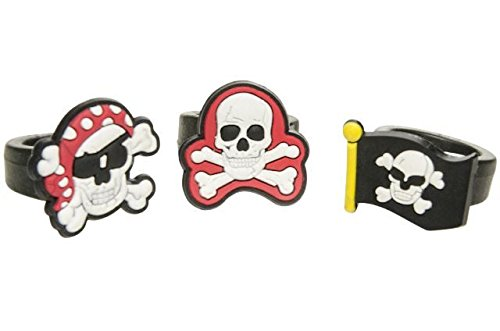 inge - Piraten Pirat - Kinderring Soft Ring Kindergeburtstag Give Away ()