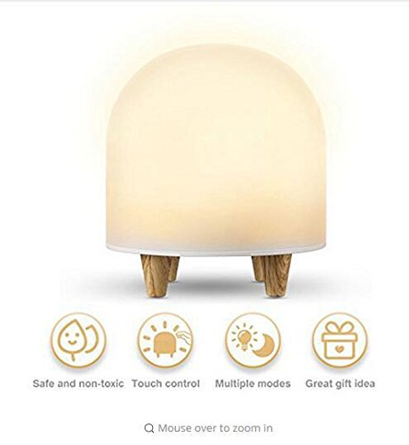 cht Baby Lichter, Nachttischlampe, Bunt 3 Dateien Dimmen Beleuchtung, DIY Silhouette Lichter zum Schlafzimmer Kinderbett ()