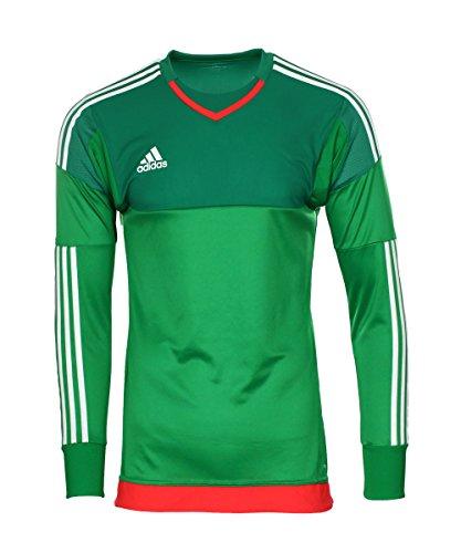 Adidas Gk jsy pl green/bgreen/owhite/b, Größe Adidas:10 (Bgreen-bekleidung)