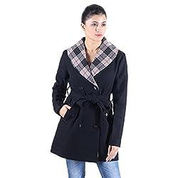 Owncraft black wool coat.
