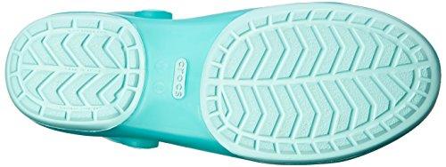 Crocs Carlie Cut Out Clog W Sandali da Donna Blu (New Mint/New Mint)