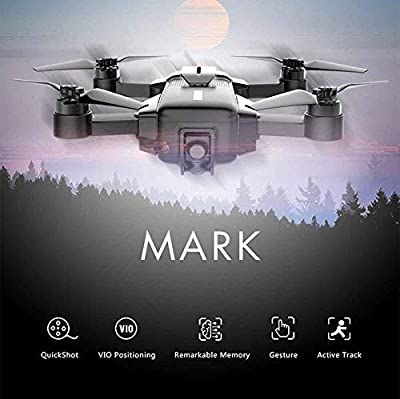 WSJ MARK Folding Four-axis Drone Toy, HD 4K Shooting, 1300W Pixels, Memory Cruise Technology, VIO Positioning Technology, Automatic Tracking Target Recognition, Child Aviation Aircraft