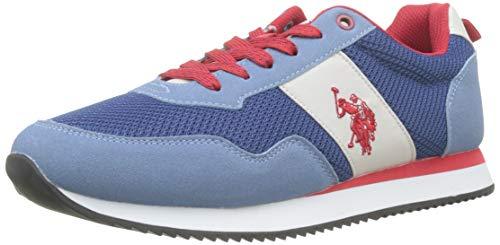 U.S. Polo Assn. Herren Talbot3 Gymnastikschuhe, Blau (Blu 008), 44 EU