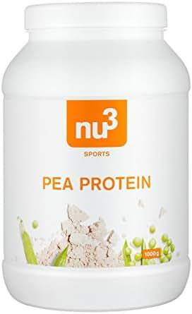nu3 Protéines de Pois sans Gluten 1 kg