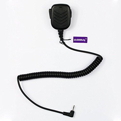 Abcgoodefg ® wasserfest, Shoulder Remote Lautsprecher Mikrofon für 1 Pin Motorola Funkgerät T6200, T6220, T5720, T5728 (2-Weg), -