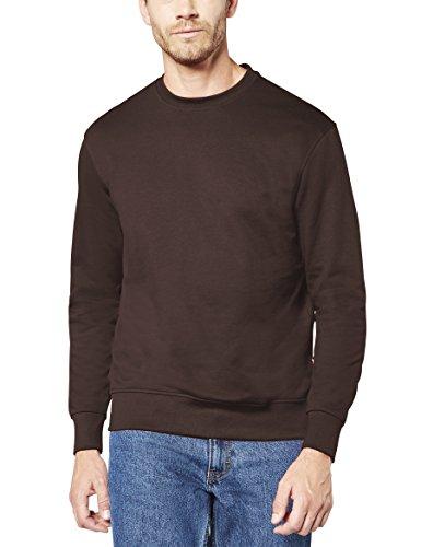 Preisvergleich Produktbild EXPAND 1305900-GR Herren Arbeits Sweatshirt, 022 Chocolate Braun, 6XL