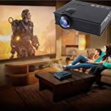 SLB Works Brand New Multimedia 3000 Lumens HD Pro LED Projector Home Theater TV/HDMI 1080P VGA USB