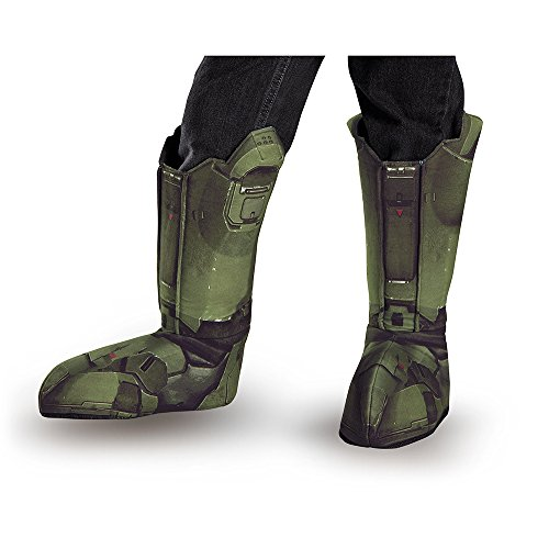 Halo Master Chief Costume Boot Covers Child One ()