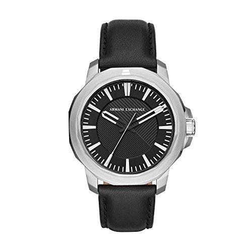 Armani Exchange Reloj Analogico para Hombre de Cuarzo con Correa en Cuero AX1902