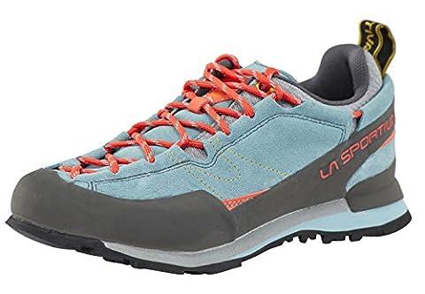 La Sportiva Boulder X Shoes grey/blue Size 38 2017