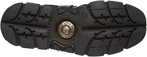 New Rock 373 S18, Bottes Motardes Mixte Adulte Noir (Black)