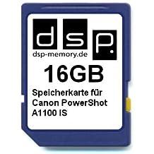 DSP Memory Z-Select 4051557369153scheda di memoria da 16GB per Canon PowerShot A1100IS
