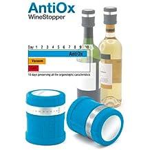 Antiox, tapón de vino azul–Pulltex