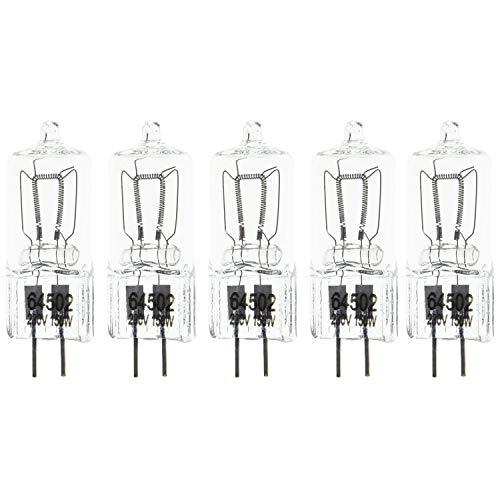 150W de Fresnel de tungsteno Luz Continua como Arri Pro Video del Punto de luz GX6.35 Cinco Bombillas