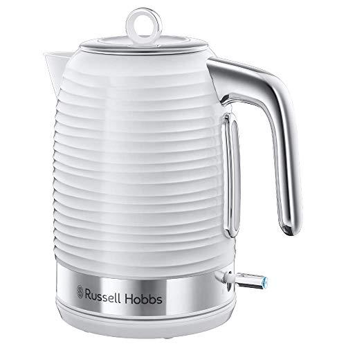 Russell Hobbs 24360-70 Wasserkocher, 2400, Hochglanz-Kunststoff, chromfarbene Kunststoffapplikationen, 1.7 liters