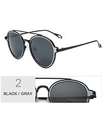 TIANLIANG04 Mujer Gafas De Sol Polarizadas Redonda Perfecta Uv400 De Lentes Para Gafas De Sol Para