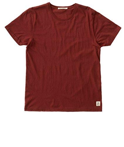 nudie-jeans-o-neck-tee-herren-t-shirt-basic-shirt-mit-rundhals-aus-reiner-bio-baumwolle-burntred-xl