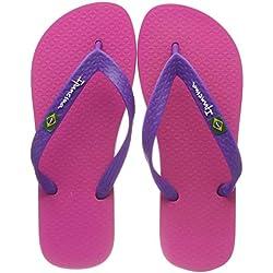 Ipanema CLAS Brasil II Fem, Chanclas para Mujer, (Pink/Purple 9154), 39/40 EU