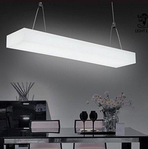 Hauptbeleuchtung Acryl T5 Beleuchtung Kronleuchter office Studio retail Bau Hängelampe 940 * 200 * 80 mm (Bau Kostüm Diy)
