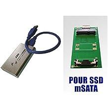 f/ür SSD M.2 angegeben Typ Intel//Sandisk Micron//Samsung//Toshiba//etc.. M2 /© NGFF auf SATA III KALEA-INFORMATIQUE Adapter
