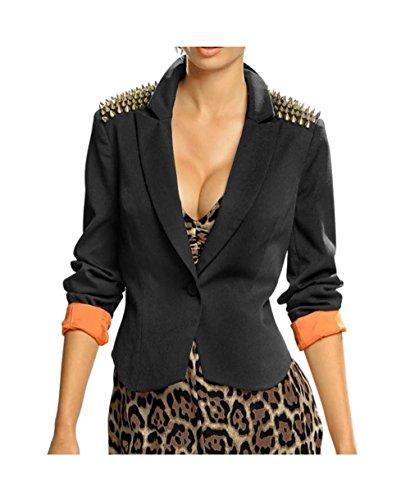 Alba Moda - Giacca da abito - Opaco -  donna nero 40