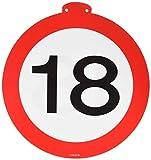 Folat Geburtstag Party Verkehrsschild 12Meter BANNER–18. Geburtstag