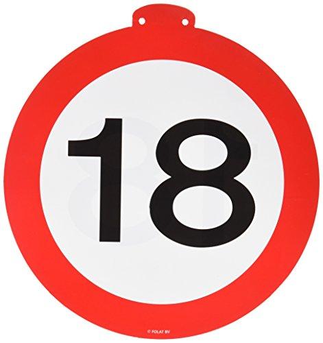 Folat Geburtstag Party Verkehrsschild 12Meter Banner-18. Geburtstag (Geburtstag Für Jungen 1. Motto-ideen)