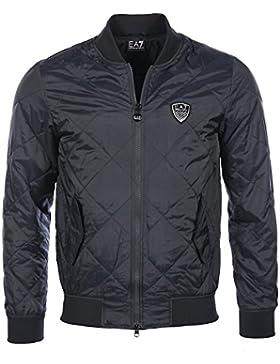 Abajo chaqueta EA7 Emporio Armani 6XPB12 1578 Azul de la Noche