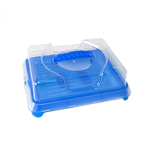 Mobile Kühlbox / Tablett mit Kühlakku und Deckel / 315 x 25 x 105 mm