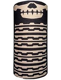 Preskin – drap, tissu multifonctionnel snood, écharpe-tube, cagoule, bandana, boucle, bandeau, ruban, col-écharpe moto | couleurs vives | Grand confort