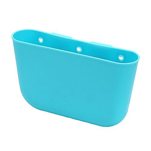 Auto Container Auto Organizer Box Halterung für Handy Sonnenbrille Blau